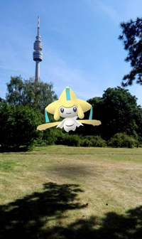 Screenshot aus Pokémon Go (1)
