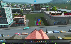 Cities Skylines - Workshop-Objekt: Tetris Plaza