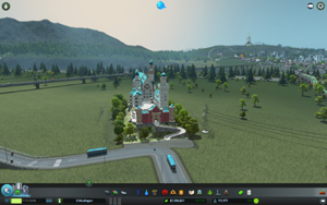 Cities Skylines - Workshop-Objekt: Neuschwanstein Castle