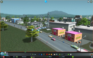 Cities Skylines - Workshop-Objekt: Moe's Bar - andrewmanq
