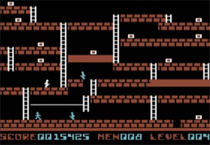 Screenshot aus Lode Runner