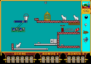 The Even More Incredible Machine - Level: Stephan 1