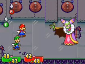 Screenshot aus Mario & Luigi: Superstar Saga