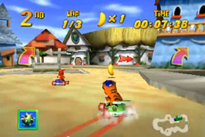 Screenshot aus Diddy Kong Racing