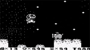 Screenshot aus Super Mario Land 2