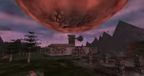 Screenshot aus Zelda: Majora's Mask
