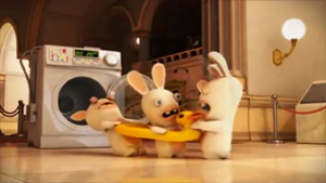 Screenshot aus Rabbids 3D